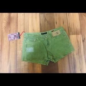 Cult of individuality jeans shorts green size 27